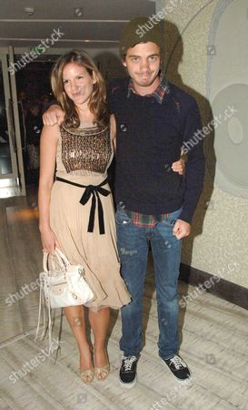 Stock Photo of Party Following the Uk Premiere of Memoirs of A Geisha at Nubo Berkeley Berkeley Street London Kate & Jake Sumner ( Son & Daughter of Sting)