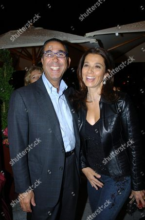 Party to Launch the Reopening of Mortons Club in Berkeley Square Dr Nasser (david) Khalili with His Wife