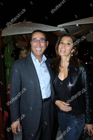 Stock Photo of Party to Launch the Reopening of Mortons Club in Berkeley Square Dr Nasser (david) Khalili with His Wife