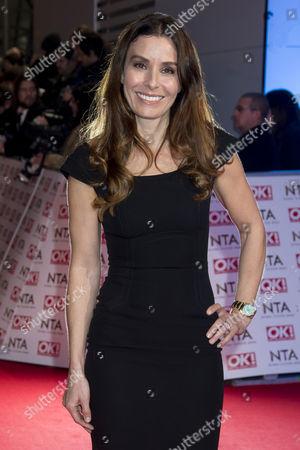 National Television Awards Arrivals at the 02 Tana Ramsey