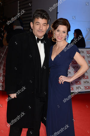 National Television Awards Arrivals at the 02 John Altman and Anna Acton