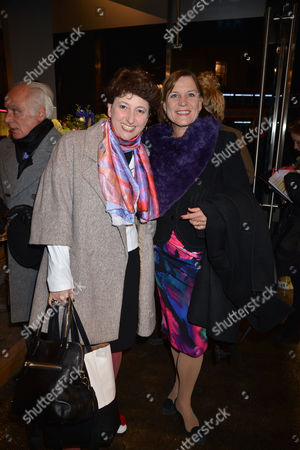 Nicky Haslam at Home with Oka A Party to Launch Nicky's Latest Book Folly De Grandeur at Oka Fulham Road West London Julia Hobsbawm & Anji Hunter
