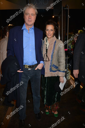 Nicky Haslam at Home with Oka A Party to Launch Nicky's Latest Book Folly De Grandeur at Oka Fulham Road West London Bunter Somerset the Marquess of Worcester with His Wife Marchioness of Worcester Tracy Ward