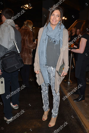 Stock Image of Nicky Haslam at Home with Oka A Party to Launch Nicky's Latest Book Folly De Grandeur at Oka Fulham Road West London Amanda Ferry