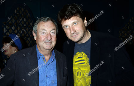 'Midnight Matinee' Album Launch at His Home On the Cromwell Road Nick Mason and Lord Johnson Somerset