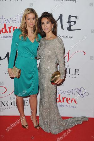 Noble Gift Gala at Me Hotel Strand Marie Guerlain and Karen Ruimy