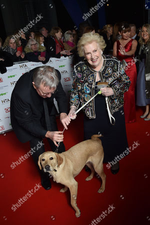 National Television Awards at the 02 - Vip Arrivals Denise Robertson