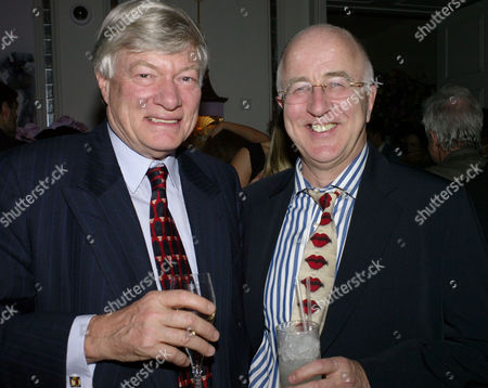 Ôin Bed With' Book Launch at the Artesian Bar at the Langham Hotel Portland Place London Geoffrey Robinson & Denis Macshane Mp