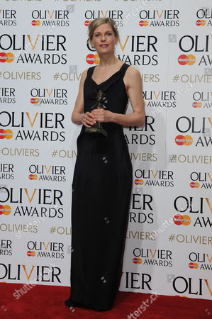 Laurence Olivier Theatre Awards 2015 Press Room at the Royal Opera House Crystal Pite - Winner of Outstanding Achievement in Dance