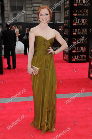 Editorial image of Olivier Theatre Awards Red Carpet Arrivals - 28 Apr 2013