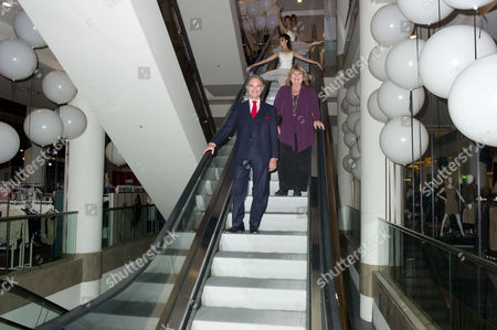 Opening Party For the Shoe Galleries Selfridges Colin and Lindy Woodhead