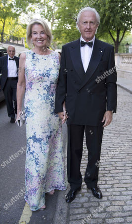 the Ormeley Environmental and Conservation Charity Dinner at Bridgewater House St James the Target is to Double the £2 8 Million Raised by the Last Two Ormeley Dinners Galen and Hilary Weston
