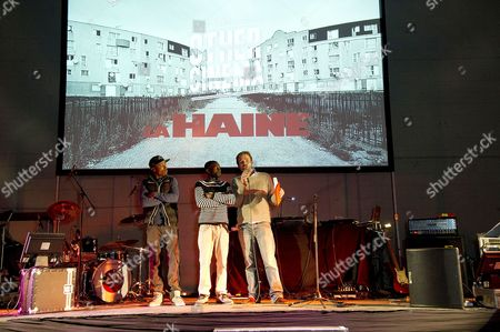 Editorial picture of Other Cinema Launches 'La Haine' at Broadwater Farm - 02 May 2012