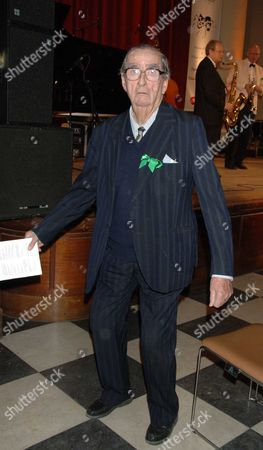 Parliamentary Palace of Varieties in Aid of Macmillan Cancer Relief at St Johns Smith Square Lord Denis Healey