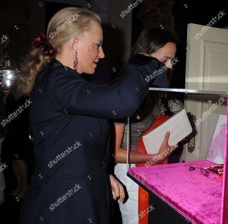 A Cocktail Party at Partridge Fine Arts Bond Street For Prince Dimitri of Yugoslavia's Collection of Fine Jewellery Princess Michael of Kent
