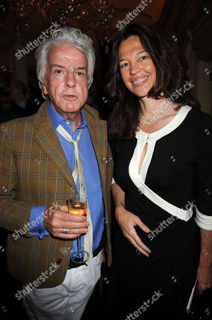 A Cocktail Party at Partridge Fine Arts Bond Street For Prince Dimitri of Yugoslavia's Collection of Fine Jewellery Nicky Haslam & Jenni Hall