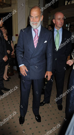 A Cocktail Party at Partridge Fine Arts Bond Street For Prince Dimitri of Yugoslavia's Collection of Fine Jewellery Prince Michael of Kent