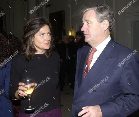 Party For the Publication of Geoffrey Robinson's Book 'The Unconventional Minister' at Somerset House Christina Odone and Geoffrey Robinson