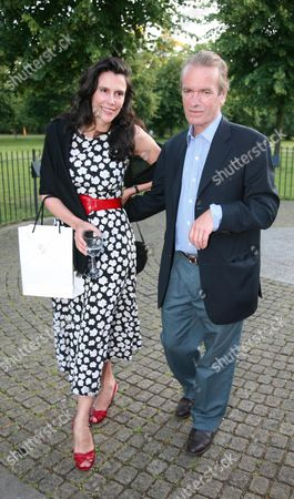 Launch Party For the Book 'The Diana Chronicles' at the Serpentine Gallery Martin Amis with His Wife Isabel Fonseca