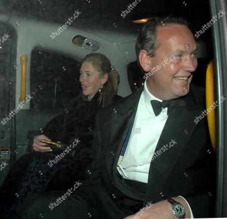 Tiggy Pettifer (legge Bourke) with Her Husband Charles Pettifer