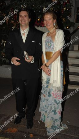 Stock Picture of Davina Duckworth Chad with Her Husband Tom Barber