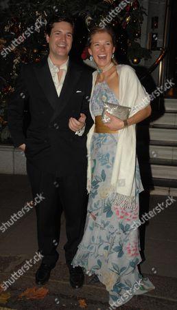 Stock Image of Davina Duckworth Chad with Her Husband Tom Barber