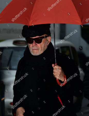 Paul Gadd ( Gary Glitter ) Arrives at Southwark Crown Court