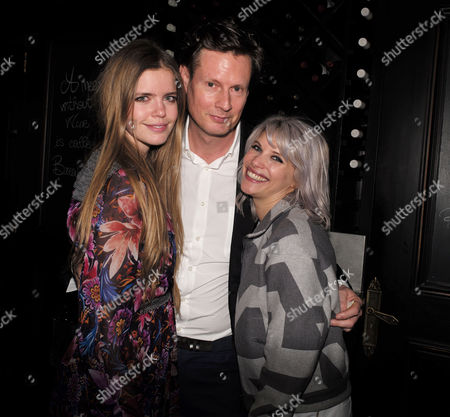 Ppq Lfw Dinner at Brasserie Chavot Conduit Street Mayfair London Katie Readman Percy Parker and Pips Taylor