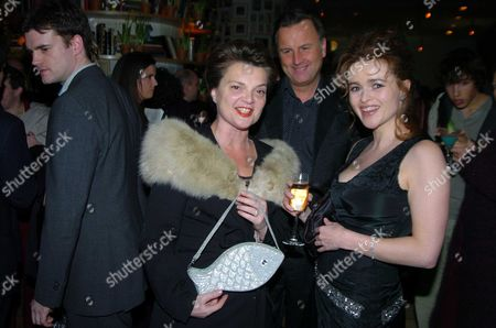 the Premiere of 'Big Fish' at the Warner Village Westend and Party at the St Martin's Lane Hotel Sabrina Guinness Valentine Guinness and Helena Bonham Carter
