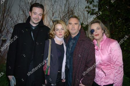 the Premiere of 'Big Fish' at the Warner Village Westend and Party at the St Martin's Lane Hotel Dennis Lawson with His Family