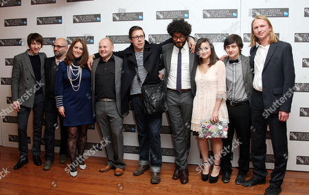 Premiere of 'Submarine' During the London Film Festival at the Vue Leicester Square Cast and Production - Alex Turner Andy Stebbing (producer) Mary Burke (producer) Mark Herbert (producer) Paddy Considine Director Richard Ayoade Yasmin Paige Craig Roberts and Joe Dunthorpe (writer)