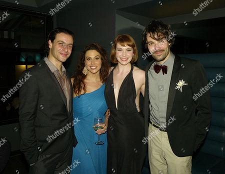 Press Night Afterparty For 'Zorro' at Floridita Wardour Street Adam Levy Lesli Margherita Emma Williams and Matt Rawle