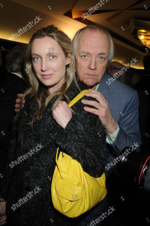 Press Night For 'Love Never Dies' Arrivals at the Adelphi Theatre Tim Rice with His Daughter Eva Rice