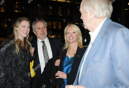 Press Night For 'Love Never Dies' Arrivals at the Adelphi Theatre Eva Rice Nick Allott Anneka Rice and Tim Rice