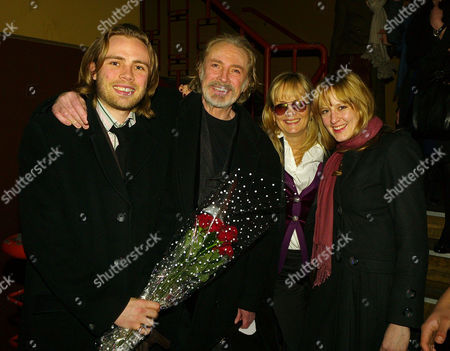 Press Night Party For 'Ring Round the Moon' at Motion On the Embankment Jason (ace) Lawson His Father Leigh Lawson Twiggy and Her Daughter Carly Witney