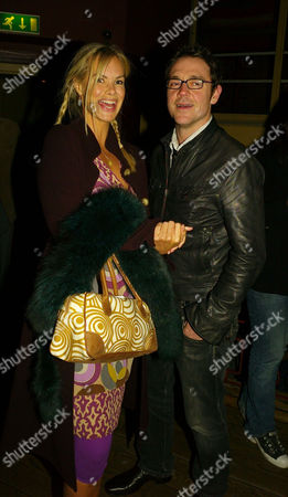 Press Night Party For 'Ring Round the Moon' at Motion On the Embankment Emma Woollard and Jamie Sives