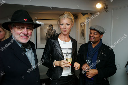 Private View For 'Guys & Dolls' at the Little Black Gallery Barry Lategan and Tamara Beckwith