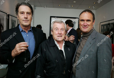 Private View For 'Terry O'neill: Guys & Dolls' at the Little Black Gallery Robin Morgan Terry O'neill and Aa Gill