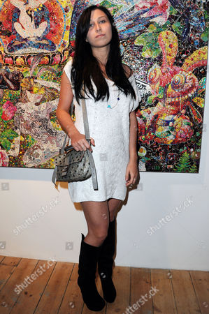 Stock Photo of Launch of Scream's New Gallery Space On Eastcastle Street and Private View of Ye Hongxing's 'The Modern Utopia' Anna Abramovich