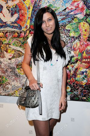 Stock Image of Launch of Scream's New Gallery Space On Eastcastle Street and Private View of Ye Hongxing's 'The Modern Utopia' Anna Abramovich