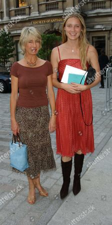 Lady Jane Rice with Her Daughter Eva