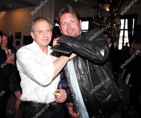 20 05 2015 Private View of Art15 London's Global Art Fair at Olympia at West London Jody Scheckter & James Martin