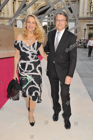 Royal Academy of Arts Summer Exhibition Preview Party Jerry Hall with Her Boyfriend Warwick Hemsley