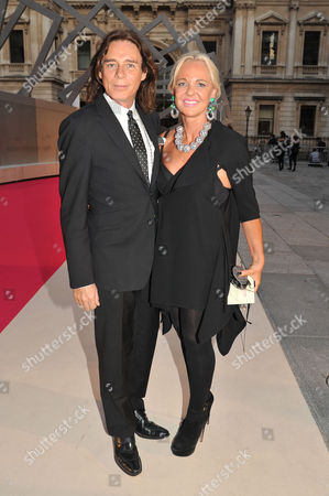 Royal Academy of Arts Summer Exhibition Preview Party George Blodwell and Amanda Eliasch