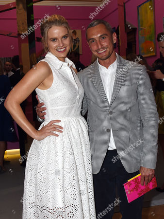 Royal Academy of Arts Summer Exhibition Preview Party at the Raa Alice Eve and Richard Nicoll