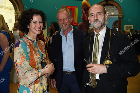 Royal Academy of Arts Summer Exhibition Preview Party at the Raa Mollie Dent Brocklehurst and Christopher Le Brun