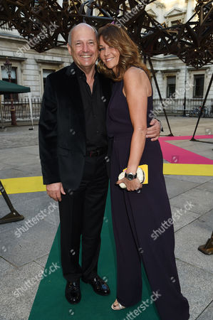 Royal Academy of Arts Summer Exhibition Preview Party at the Raa Ron Dennis with His Partner Carol Weatherall