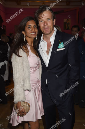 Royal Academy of Arts Summer Exhibition Preview Party at the Raa Joel Cadbury with His Wife Divia Lalvani