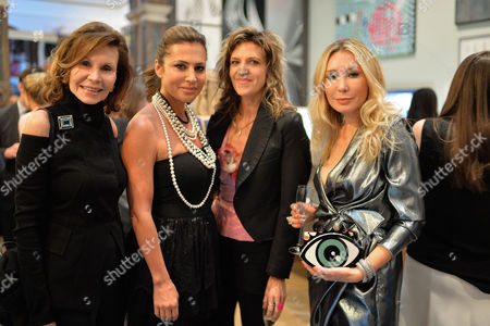 Royal Academy of Arts Summer Exhibition Preview Party at the Raa Piccadilly Rosemary Lieberman Ella Krasner and Martha Fiennes