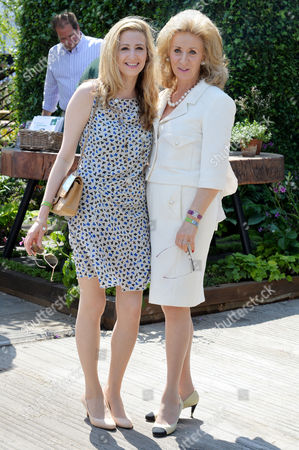 Rhs Chelsea Flower Show Press Day at the Royal Hospital Chelsea Lady Estelle Wolfson with Her Daughter